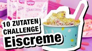 10 Zutaten Challenge: Dr. Oetker Eiscreme 🍦
