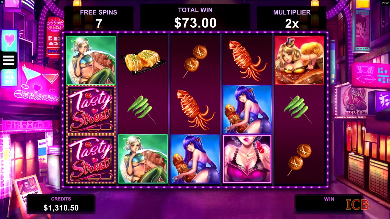 Tasty Street Slot- BIG-WIN & Game Play - by Microgaming - YouTube