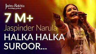 Ye Jo Halka Halka Suroor Hai   Jaspinder Narula   Jashn-e-Rekhta Thumb