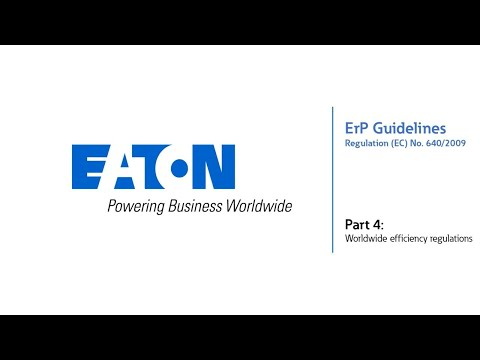 Worldwide efficiency regulations