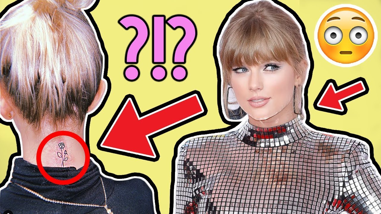 Taylor Swift Got A Neck Tattoo Youtube