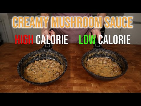 anything goes  low fat mushroom sauce