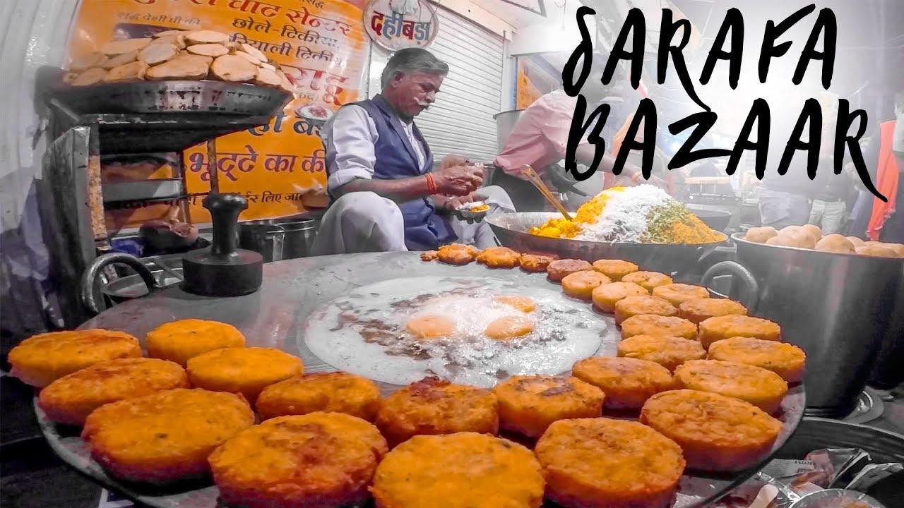 A foodies Guide to Sarafa Bazaar | Indore | Indian Street Food | Mumbai to Ladakh Roadtrip | Part 22 - YouTube