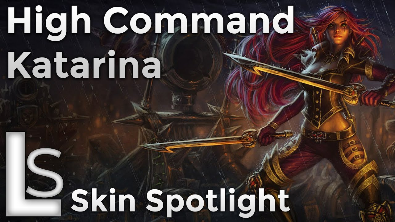 High Command Katarina Skin Spotlight League Of Legends Youtube