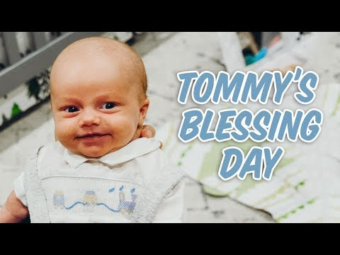 Tommy's Blessing Day