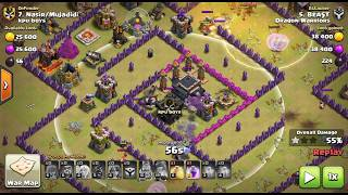 {Hindi} Dual Walk on TH9 -Archer Queen & Bowler Walk With Mass Valkry | Ep.2 | Clash Of Clans