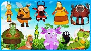 РАЗВИВАЮЩИЕ игры ПАЗЛЫ головоломки для детей Лунтик Барбоскины Фиксики Смешарики