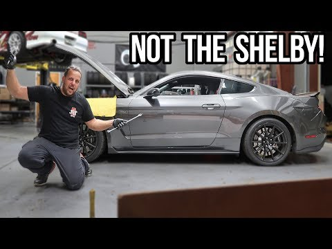 SHELBY GT350 ENGINE LOCKS UP...