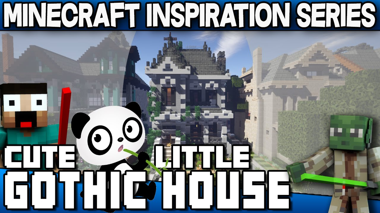 Minecraft - Cute Little Gothic House - Keralis Inspiration ... | 1280 x 720 jpeg 155kB