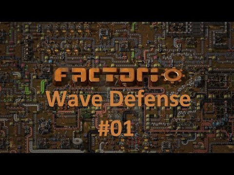 Factorio: Wave Defense 01