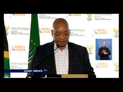 "Zuma launches ""War on Leaks"" project"