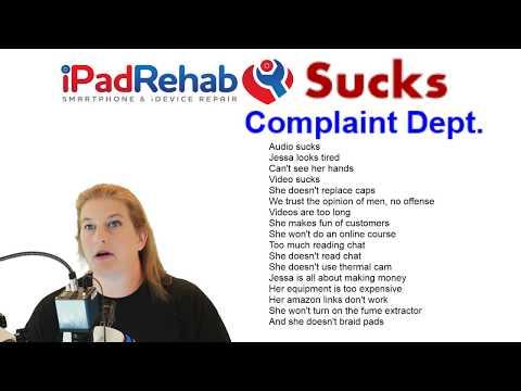 iPad Rehab Sucks