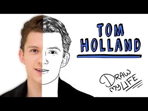 TOM HOLLAND | Draw My Life