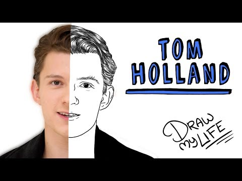 TOM HOLLAND   Draw My Life