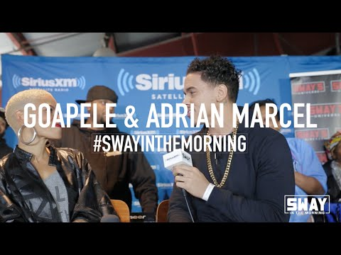 Goapele and Adrian Marcel Serenade Each Other Live