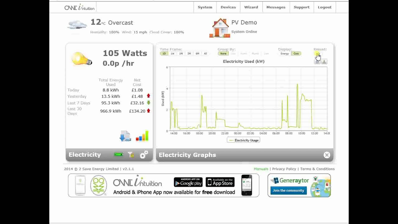 OWL - Monitoring and Control Sysetms - Solar & Wind