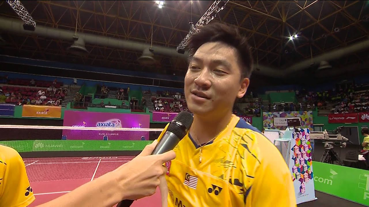 AXIATA CUP 2014 POST MATCH TAN WEE KIONG & TAN BOON HEONG