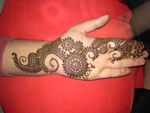 Elegant Latest Henna  Arabic Mehndi  Beautiful Mehndi Design   For Front Hands 2017