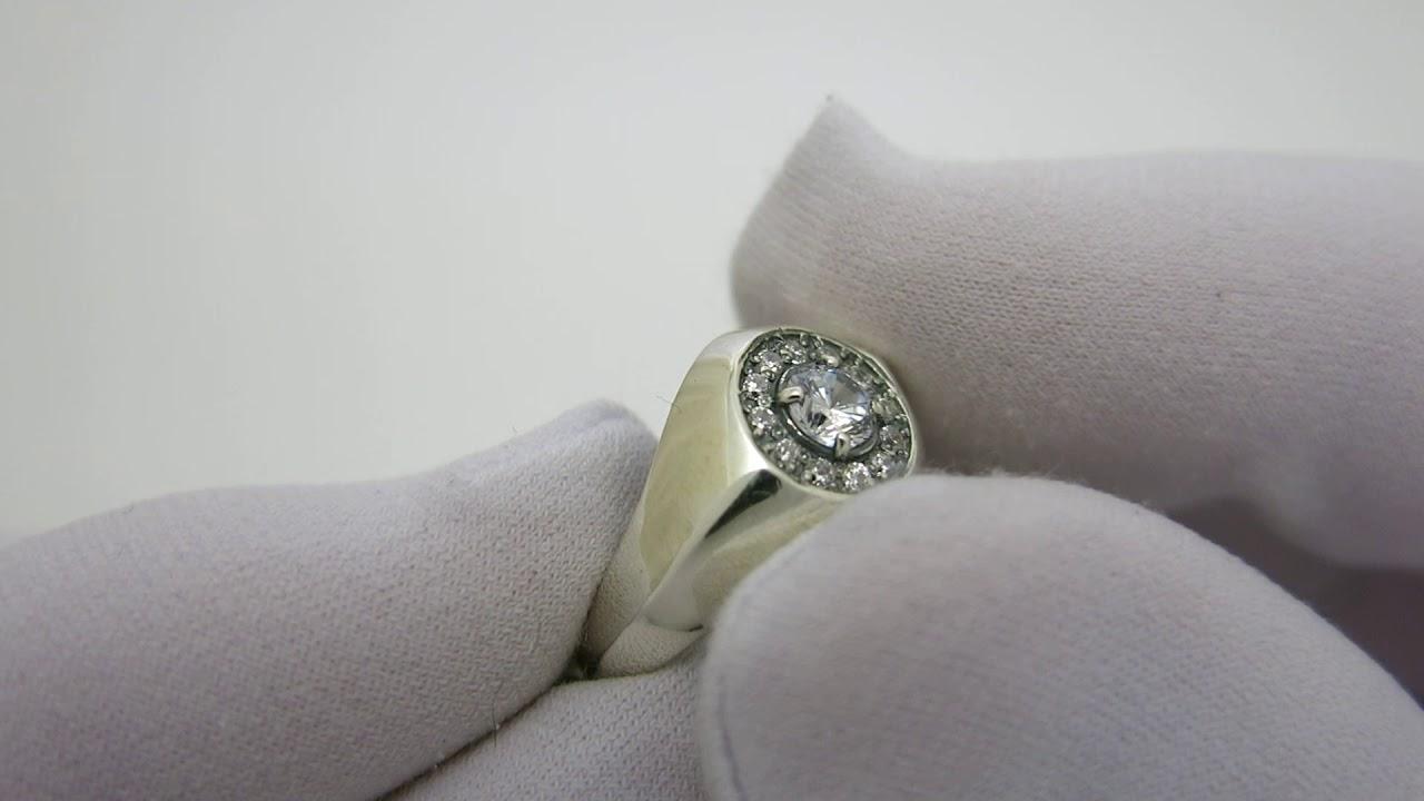 обручальные кольца серебро - YouTube