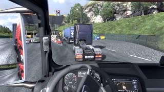 Euro Truck Simulator 2 - Viagem com Sono