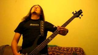 creeping death bass cover