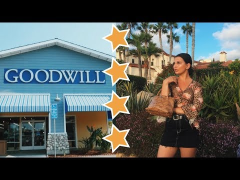 COME THRIFTING WITH ME TO GOODWILL IN SAN DIEGO + TRY ON HAUL