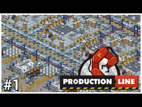 Production Line [Alpha] - #1 - Production Begins! - Let's Play / Gameplay / Construction