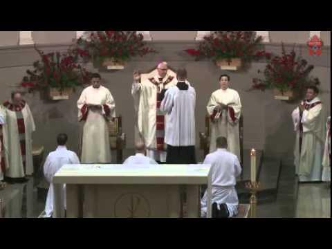 Deacon Ordination of Aaron James Foshee, Daniel Gregory Grover and Lance Allan Warren