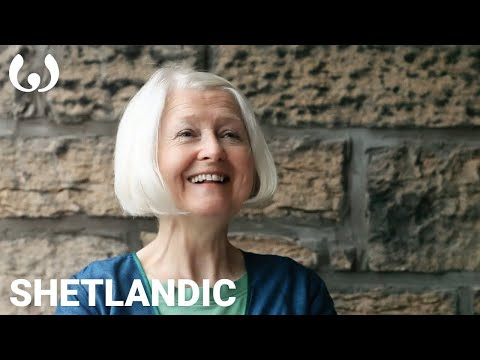 WIKITONGUES: Christine speaking Shetlandic