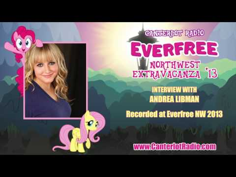 Andrea Libman Interview - Everfree Northwest 2013 - Canterlot Radio