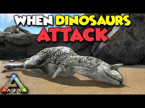 WHEN DINOSAURS ATTACK!!! - ARK Duo Survival Series #2