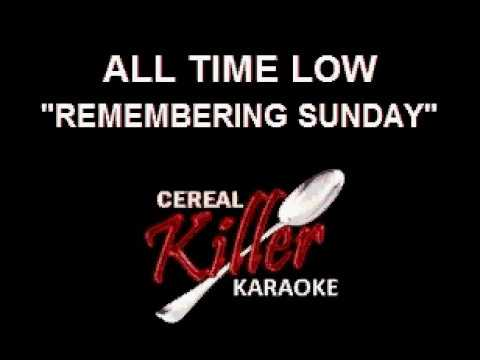 CKK-VR - All Time Low - Remembering Sunday (Karaoke)