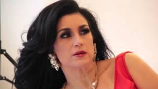 Karina en la Revista OK! Venezuela - Making of