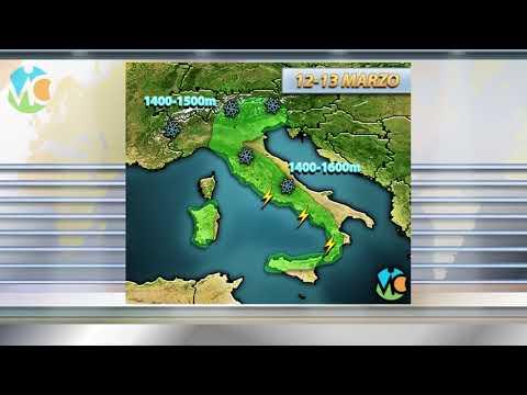 Maltempo in Italia prima di una breve pausa asciutta