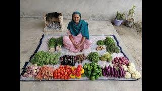 MIX VEGETABLE RECIPE BY MY GRANNY | MIX VEG SABJI | VILLAGE FOOD | VEG RECIPES | VILLAGE COOKING