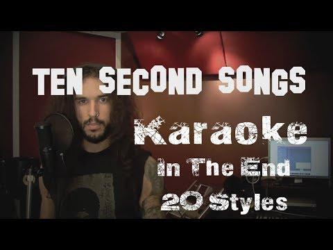 Karaoke: Linkin Park - In The End | Ten Second Songs 20 Style