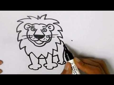 Clipart picture of lion