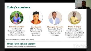 African Forum on Green Economy: Digging into Agriculture