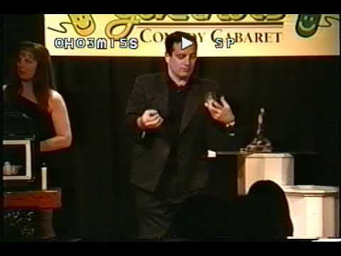 Magician Julian Dean