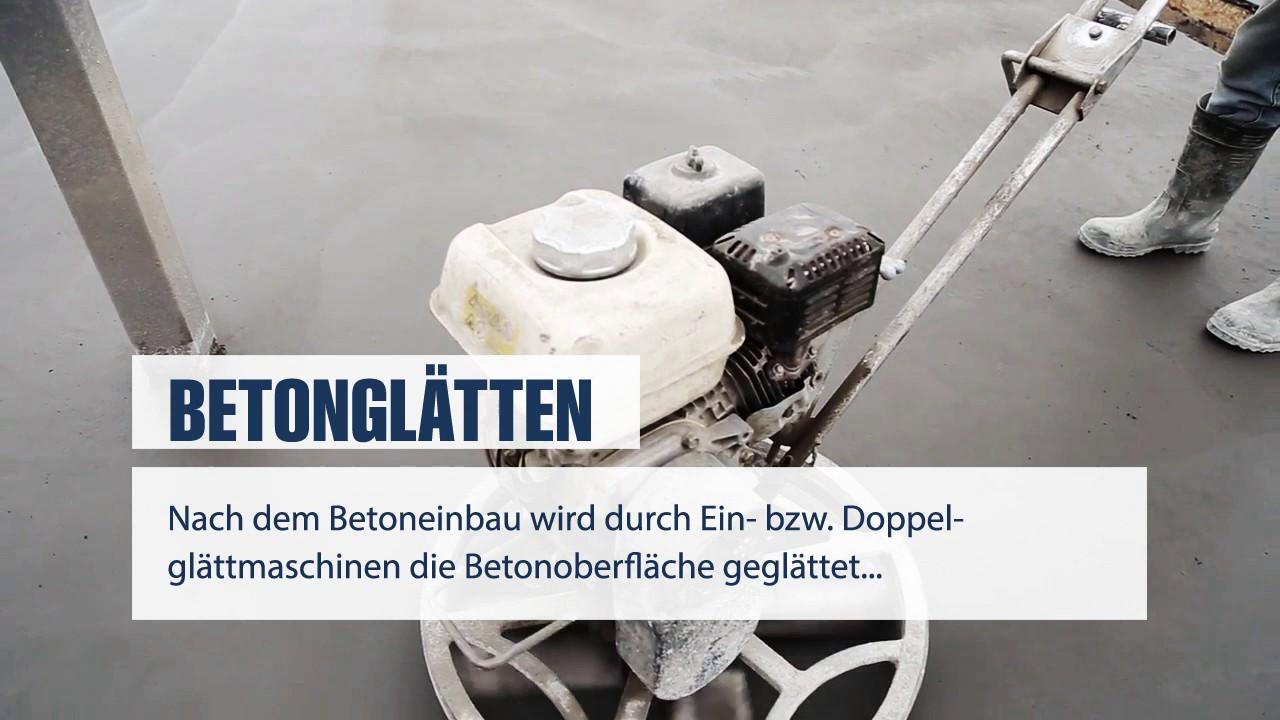 Favorit Betonglätten / Flügelglätten - www.Betonglaetten.berlin - YouTube JJ14