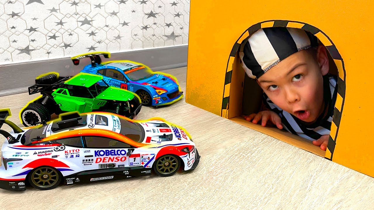 Dima play with toy cars - Collection car videos for kids