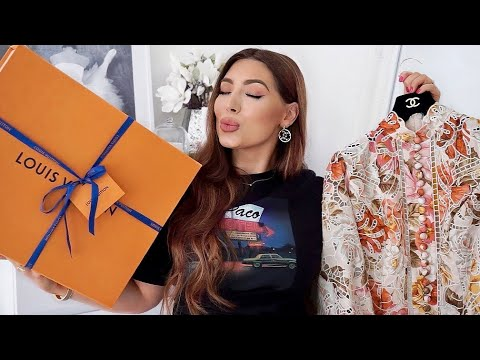 Another Louis Vuitton Unboxing & More Zimmermann 😍 💞
