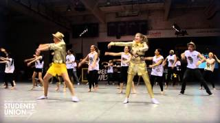 Gold Spurs Head-Ice Dance Off | O-Week 2013 | Wilfrid Laurier University | Waterloo Campus