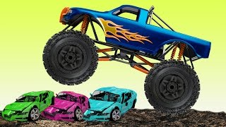 Machines for Kids | Monster Trucks Compilation | 12 Minutes of Freestyle