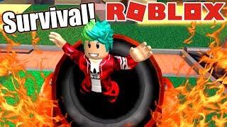 Super Survival in Roblox Minecraft World ? Roblox Karim Games Play