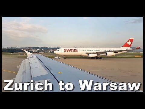 FLIGHT REPORT ✈ Zurich to Warsaw - Swiss Airlines, Airbus 319