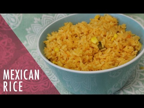 How To Make Authentic Mexican Red RICE Recipe