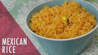 Authentic Mexican Rice Recipe. Tasty Delights