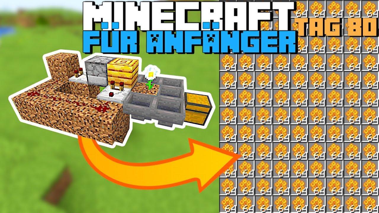 Download Wie baut man eine automatische Honigfarm in Minecraft 1.15 | Minecraft für Anfänger Honigfarm 80