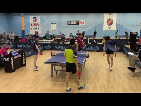 Open, Jishan Liang and Ruichao (Alex) Chen vs Di Yu and Bowen Chen